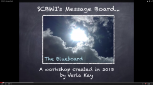 SCBWI Message Board photo
